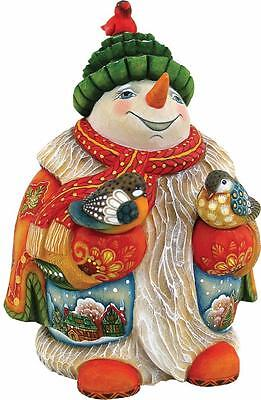 G DeBrekht Enchanted Flurry Snowman 900 Piece Limited Edition 543141G