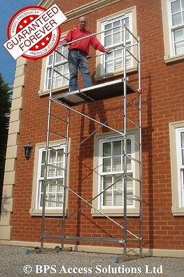 Super 5m DIY Aluminium Scaffold Tower Towers - Made in EU - others made in China