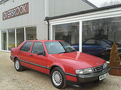 1995 Saab 9000 2.0 CD XS 41,000 miles from new 1 former keeper black leather