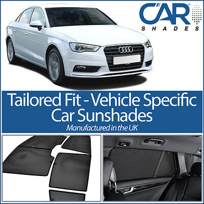 AUDI A3 4DR 2012 On SALOON CAR WINDOW SUN SHADE BABY SEAT CHILD BOOSTER BLIND UV