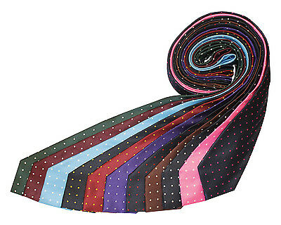 Equetech Polka Dot Show Tie 11 Colours Adult & Junior + Worldwide Shipping