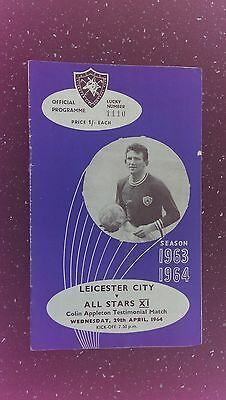 Leicester City V All Stars Xi 1963-64