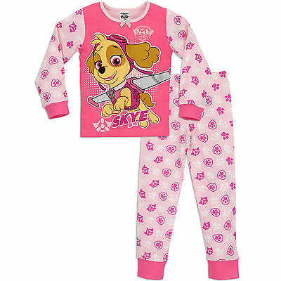 Paw Patrol Pyjamas | Girls Paw Patrol PJ's | Girls Paw Patrol Pyjama Set | NEW