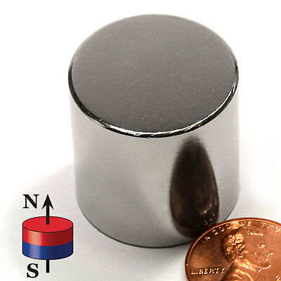 "CMS Magnetics® Super Strong N52 Neodymium Cylinder Magnet 1""x 1"" - BEST SELLER!"