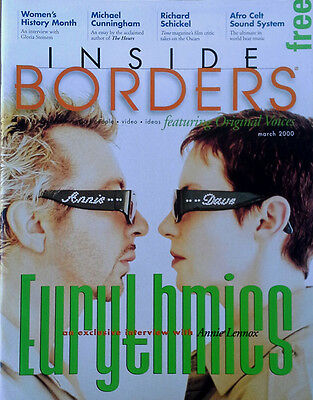 Eurythmics - Annie Lennox Interview - Inside Borders Magazine - March 2000
