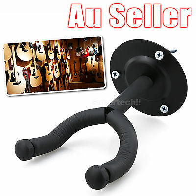 New Wall Hook Electric Acoustic Bass Guitar Stand Rack Hancing Mount Holder OZ