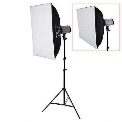 Neewer 50x70cm Riflettore Quadrato Softbox Tenda Cubica con Montatura per Flash