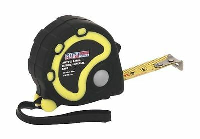 Sealey Rubber Measuring Tape 3mtr(10ft) x 16mm Metric/Imperial AK988