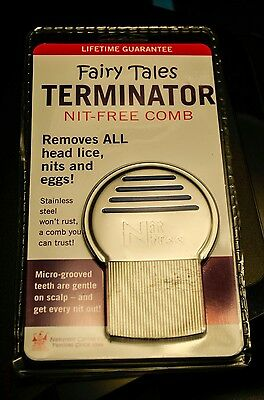 Fairy Tales Terminator Lice And Nit-Free Comb