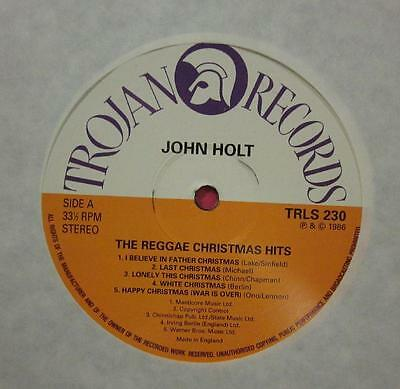 John Holt(Vinyl LP)The Reggae Christmas Hits-Trojan-TRLS 230-UK-1986-NM/M
