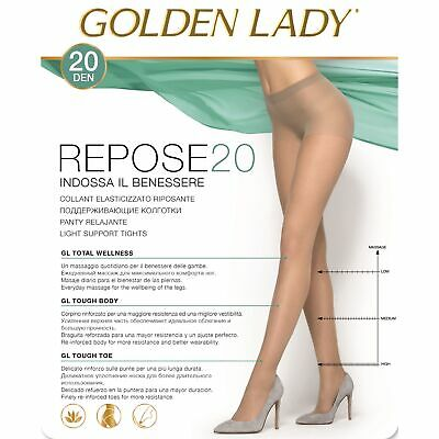 Collant Golden Lady Repose 20 Denari Effetto Riposante Conf. Da 5 Paia