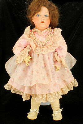 """Antique 1920's Nippon Morimura Brothers Dolly Face Bisque & Composition Doll 20"""""""