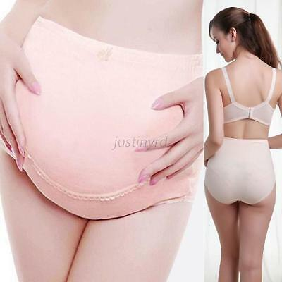 Maternity Pregnancy Stretch Cotton Underwear Support Briefs Panty Belly Care J91