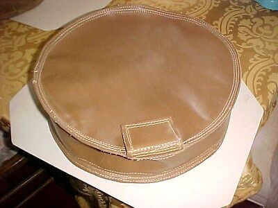 """New 15"""" Diameter Leather  Beater Bag Shot Dolly /metal Forming Work/3-3 1/2""""tall"""