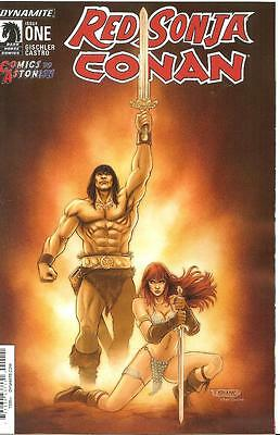 Red Sonja Conan #1 Comics To Astonish Inc Exclusive Store Variant Cover Neves