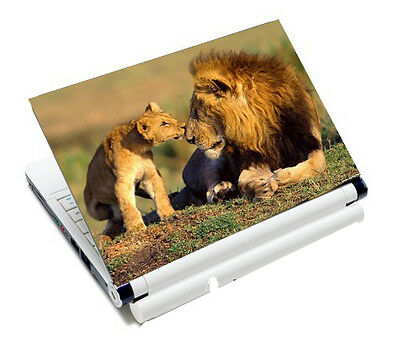 """Lion 12"""" 13.3"""" 14"""" 15.6"""" Laptop Netbook Decal Sticker Skin Protector Cover"""