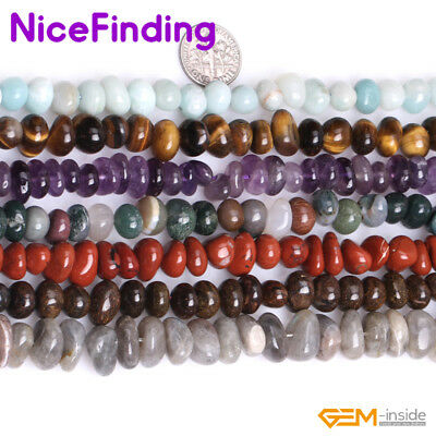 Wholesale Natural Freeform Potato Nugget Gemstone Beads For Jewelry Making 15""