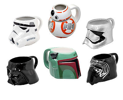Official STAR WARS - 3D MUG (Ceramic) Episode VII The Force Awakens (+ Gift Box)