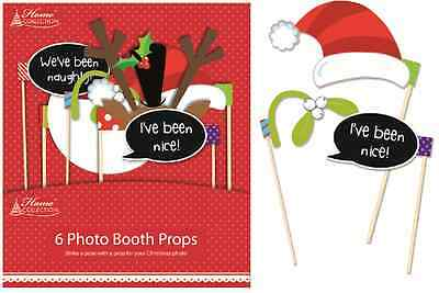 Christmas Party Photo Booth 6 Selfie Stick Props For Festive Phone Pictures XPRP