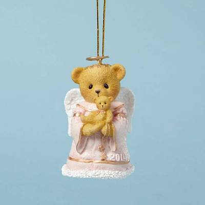 Cherished Teddies 2014 Hugs From Heaven Dated Bell Ornament 4040459