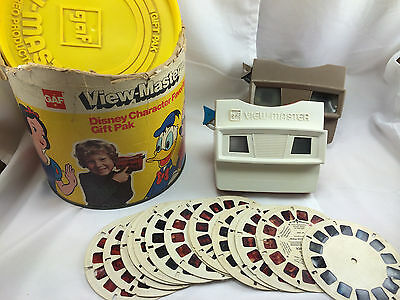 Disney Character GAF View-Master Lot Gift Pack Reels