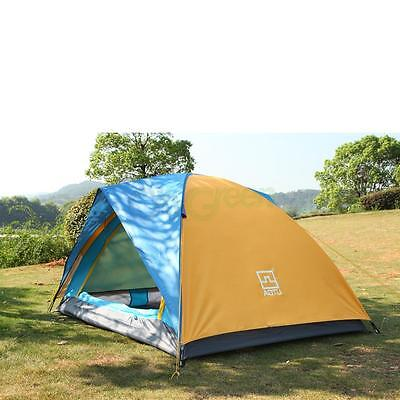 4 Season 2 person Waterproof Folding Tent Double Layer Tent Hiking Camping tent