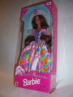 New in Box Sweet Magnolia Barbie Doll Walmart Special Edition 1996