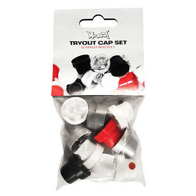 Montana Tryout Spray Paint Cap Set- 10 X Mixed Replacement Caps / Nozzles