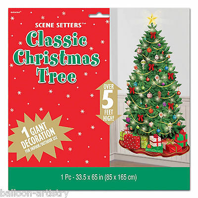 Merry Christmas Party Scene Setter Add on Prop Decoration - Christmas Tree