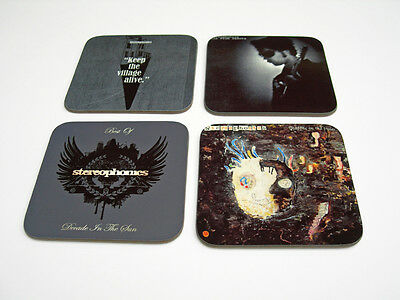 The Stereophonics Album Cover COASTER Set #3