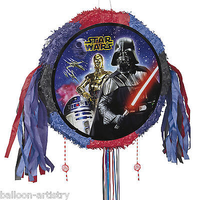 Star Wars Classic Trilogy Children's Birthday Drum Popout Pull Pinata Party Game