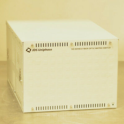 JDSU SG06124+17F001FA SG Fiber Optic Matrix Switch
