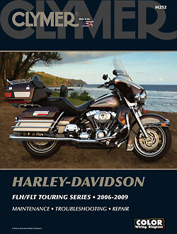 Clymer Service Manual Harley Davidson M252 Flhrc Road King Classic 2007 08 2009