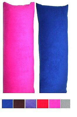 Medium Size Body Maternity Pillow + Case 2 Piece Set 105 x 42 cm Pillow inc Post