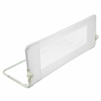 Safetots Childrens Mesh Travel Bed Rail Toddler Portable Bed Guard White