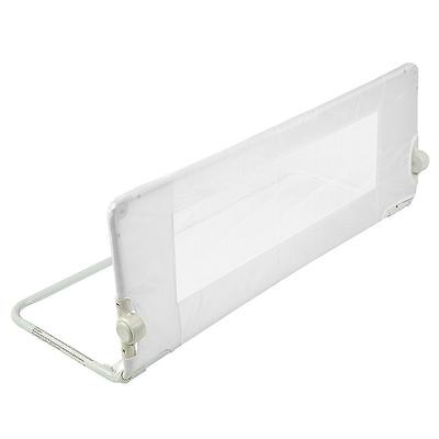 Safetots Mesh Bed Rail - Childs Travel Bedguard - Infant White Bedrail