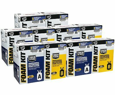 Touch N Seal U2-600 Spray Foam Insulation Kit Closed Cell(3000 BF)-QTY of 5 Kits