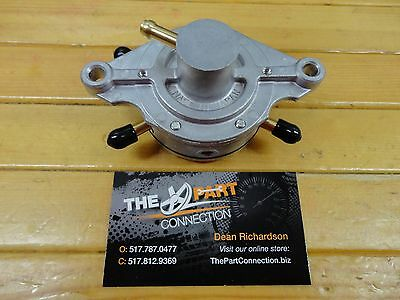 New Mikuni Fuel Pump Df52 Double Outlet Polaris Arctic Cat Ski Doo Fits Many