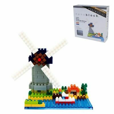 NBH043 Nanoblock Windmill Sights to See Series Kinderdijk Elshout 310pcs