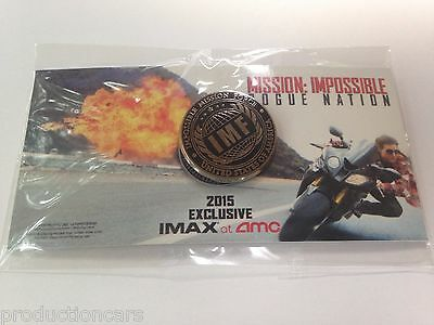 Mission Impossible Rogue Nation Movie Film IMF Collectors Pin 2015 Exclusive