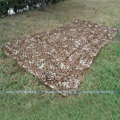 2mX4m Desert Military Camouflage Net Camo Cover Sunshades Camping Decor Hot