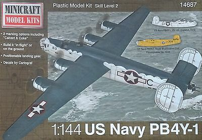 MINICRAFT 14687 US Navy PB4Y-1 in 1:144
