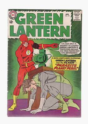 Green Lantern # 20  Parasite Planet Peril ! grade 5.5  scarce book !