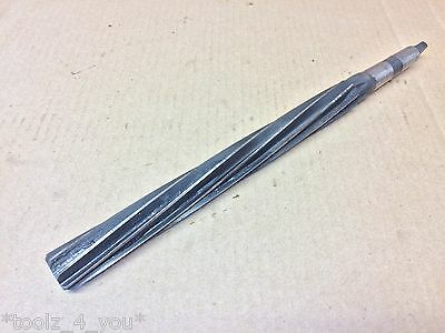 "Cleveland HSS 57/64"" x 9"" Flute Long Series Morse Taper Shank MT2 Machine Reamer"