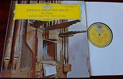 Dg 139387 Bach Organ Works Bwv 552/548/529/650/645 Lp Richter Ex Tulips Germany