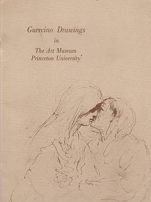 Guercino Drawings Art Museum Princeton Exhibition Catalog 1969 Rare