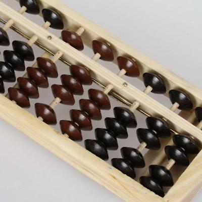 Wooden Math Abacus Arithmetic Soroban Calculating Tool Educational Toy