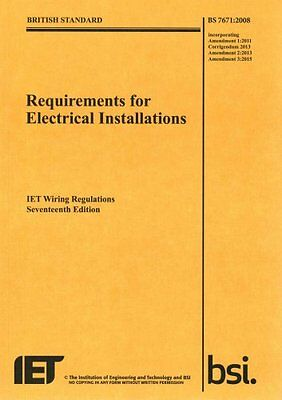 Requirements for Electrical Installations, Iet Wiring Regulatio... 9781849197694