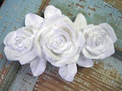 Shabby & Chic Rose Bouquet  FURNITURE APPLIQUES / ONLAYS !