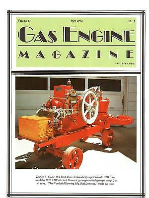 Acadia gas Engines, Side Shaft Domestic, W-12 tractor